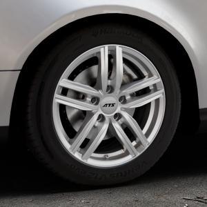 ATS Antares polar-silber Felge mit Reifen in 16Zoll Winterfelge Alufelge auf silbernem Volkswagen (VW) Passat 3C/B6 Variant ⬇️ mit 15mm Tieferlegung ⬇️ Industriehalle 1 Thumbnail