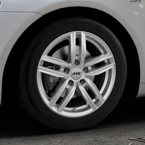ATS Antares polar-silber Felge mit Reifen in 16Zoll Winterfelge Alufelge auf silbernem Volkswagen (VW) Scirocco III Typ 13 ⬇️ mit 15mm Tieferlegung ⬇️ Industriehalle 1 Thumbnail