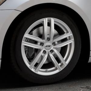 ATS Antares polar-silber Felge mit Reifen in 17Zoll Winterfelge Alufelge auf silbernem Volkswagen (VW) Passat 3C/B8 Limousine Variant ⬇️ mit 15mm Tieferlegung ⬇️ Industriehalle 1 Thumbnail