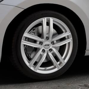 ATS Antares polar-silber Felge mit Reifen in 17Zoll Winterfelge Alufelge auf silbernem Volkswagen (VW) Touran III Typ 1T (15->) ⬇️ mit 15mm Tieferlegung ⬇️ Industriehalle 1 Thumbnail