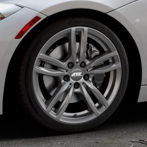 ATS Evolution dark-grey Felge mit Reifen grau in 18Zoll Winterfelge Alufelge auf silbernem BMW Z4 Roadster Typ E89 (Z89, ZR) ⬇️ mit 15mm Tieferlegung ⬇️ Industriehalle 1 Thumbnail