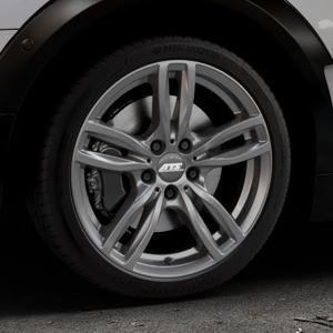 ATS Evolution dark-grey Felge mit Reifen grau in 18Zoll Winterfelge Alufelge auf silbernem Mini F54 Typ UKL-L (Clubman) FMK ⬇️ mit 15mm Tieferlegung ⬇️ Industriehalle 1 Thumbnail