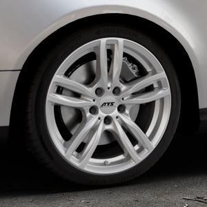 ATS Evolution polar-silber Felge mit Reifen in 18Zoll Winterfelge Alufelge auf silbernem Volkswagen (VW) Passat 3C/B6 Variant ⬇️ mit 15mm Tieferlegung ⬇️ Industriehalle 1 Thumbnail