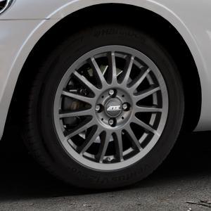 ATS Streetrallye dark-grey Felge mit Reifen grau in 16Zoll Winterfelge Alufelge auf silbernem Chrysler PT Cruiser Cabriolet ⬇️ mit 15mm Tieferlegung ⬇️ Industriehalle 1 Thumbnail