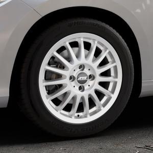 ATS Streetrallye polar-silber Felge mit Reifen in 16Zoll Winterfelge Alufelge auf silbernem Fiat Tipo II Limousine Typ 356 ⬇️ mit 15mm Tieferlegung ⬇️ Industriehalle 1 Thumbnail