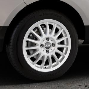 ATS Streetrallye polar-silber Felge mit Reifen in 16Zoll Winterfelge Alufelge auf silbernem Ford EcoSport Typ JK8 ⬇️ mit 15mm Tieferlegung ⬇️ Industriehalle 1 Thumbnail