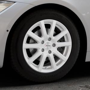 AUTEC Skandic Brillantsilber lackiert Felge mit Reifen in 16Zoll Winterfelge Alufelge auf silbernem BMW 418d Typ F36 (Gran Coupe) 420d xDrive 420i 428i 435i 430d 440i 418i 430i 425d ⬇️ mit 15mm Tieferlegung ⬇️ Industriehalle 1 Thumbnail