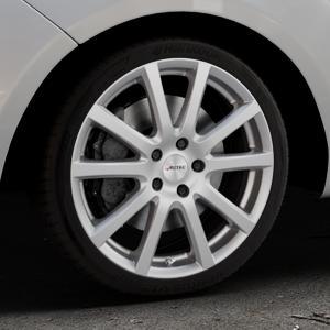 AUTEC Skandic Brillantsilber lackiert Felge mit Reifen in 18Zoll Winterfelge Alufelge auf silbernem Hyundai ix20 Typ JC ⬇️ mit 15mm Tieferlegung ⬇️ Industriehalle 1 Thumbnail