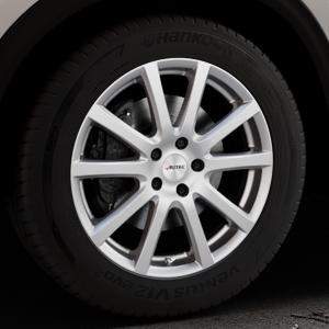 AUTEC Skandic Brillantsilber lackiert Felge mit Reifen in 18Zoll Winterfelge Alufelge auf silbernem Mazda CX-5 Typ KF ⬇️ mit 15mm Tieferlegung ⬇️ Industriehalle 1 Thumbnail