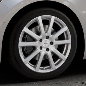 AUTEC Skandic Brillantsilber lackiert Felge mit Reifen in 18Zoll Winterfelge Alufelge auf silbernem Renault Talisman Typ RFD ⬇️ mit 15mm Tieferlegung ⬇️ Industriehalle 1 Thumbnail