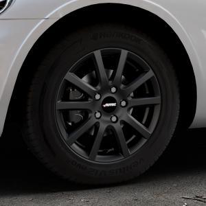 AUTEC Skandic ECE Schwarz matt Felge mit Reifen in 15Zoll Winterfelge Alufelge auf silbernem Chrysler PT Cruiser Cabriolet ⬇️ mit 15mm Tieferlegung ⬇️ Industriehalle 1 Thumbnail