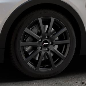 AUTEC Skandic ECE Schwarz matt Felge mit Reifen in 17Zoll Winterfelge Alufelge auf silbernem Opel Ampera-e Typ 1G0F ⬇️ mit 15mm Tieferlegung ⬇️ Industriehalle 1 Thumbnail