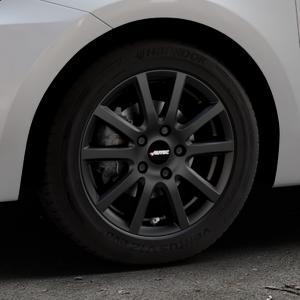 AUTEC Skandic Schwarz matt Felge mit Reifen in 15Zoll Winterfelge Alufelge auf silbernem Suzuki Swift VI Typ AZ ⬇️ mit 15mm Tieferlegung ⬇️ Industriehalle 1 Thumbnail
