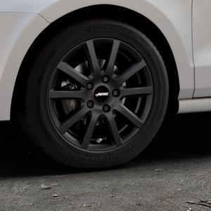 AUTEC Skandic Schwarz matt Felge mit Reifen in 15Zoll Winterfelge Alufelge auf silbernem Volkswagen (VW) Polo V Typ 6C 1,0l 44kW (60 PS) 55kW (75 1,2l TSI 66kW (90 81kW (110 1,4l TDI 77kW (105 110kW (150 70kW (95 ⬇️ mit 15mm Tieferlegung ⬇️ Industriehalle 1 Thumbnail