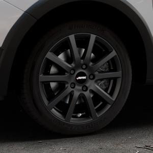 AUTEC Skandic Schwarz matt Felge mit Reifen in 16Zoll Winterfelge Alufelge auf silbernem Dacia Sandero Stepway II Typ SD ⬇️ mit 15mm Tieferlegung ⬇️ Industriehalle 1 Thumbnail