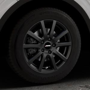AUTEC Skandic Schwarz matt Felge mit Reifen in 16Zoll Winterfelge Alufelge auf silbernem Renault Kadjar Typ RFE ⬇️ mit 15mm Tieferlegung ⬇️ Industriehalle 1 Thumbnail