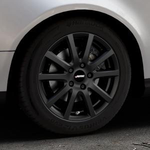 AUTEC Skandic Schwarz matt Felge mit Reifen in 16Zoll Winterfelge Alufelge auf silbernem Volkswagen (VW) Passat 3C/B6 Variant ⬇️ mit 15mm Tieferlegung ⬇️ Industriehalle 1 Thumbnail