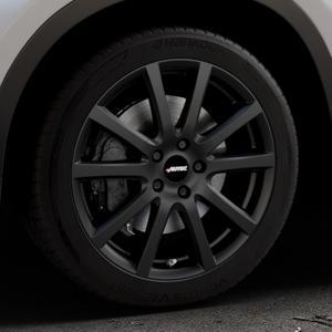 AUTEC Skandic Schwarz matt Felge mit Reifen in 18Zoll Winterfelge Alufelge auf silbernem BMW X1 Typ F48 (UKL-L) (F1X) ⬇️ mit 15mm Tieferlegung ⬇️ Industriehalle 1 Thumbnail