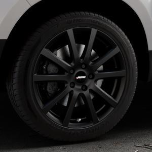 AUTEC Skandic Schwarz matt Felge mit Reifen in 18Zoll Winterfelge Alufelge auf silbernem Dacia Duster Typ SD ⬇️ mit 15mm Tieferlegung ⬇️ Industriehalle 1 Thumbnail