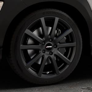 AUTEC Skandic Schwarz matt Felge mit Reifen in 18Zoll Winterfelge Alufelge auf silbernem Hyundai Kona Typ OS ⬇️ mit 15mm Tieferlegung ⬇️ Industriehalle 1 Thumbnail