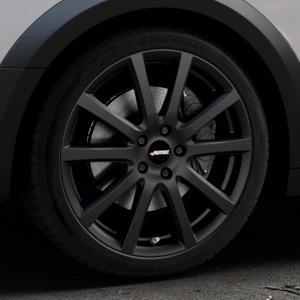 AUTEC Skandic Schwarz matt Felge mit Reifen in 19Zoll Winterfelge Alufelge auf silbernem Audi A4 Typ B9 Allroad ⬇️ mit 15mm Tieferlegung ⬇️ Industriehalle 1 Thumbnail