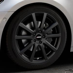 AUTEC Skandic Schwarz matt Felge mit Reifen in 19Zoll Winterfelge Alufelge auf silbernem Audi A7 Typ F2/C8 (Sportback) ⬇️ mit 15mm Tieferlegung ⬇️ Industriehalle 1 Thumbnail