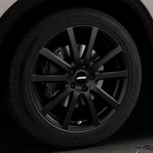 AUTEC Skandic Schwarz matt Felge mit Reifen in 19Zoll Winterfelge Alufelge auf silbernem Mazda CX-5 Typ KF ⬇️ mit 15mm Tieferlegung ⬇️ Industriehalle 1 Thumbnail