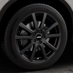 AUTEC Skandic Schwarz matt Felge mit Reifen in 19Zoll Winterfelge Alufelge auf silbernem Volvo XC40 Typ X ⬇️ mit 15mm Tieferlegung ⬇️ Industriehalle 1 Thumbnail