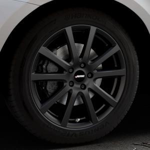 AUTEC Skandic Schwarz matt Felge mit Reifen in 19Zoll Winterfelge Alufelge auf silbernem Volvo XC60 Typ D Facelift ⬇️ mit 15mm Tieferlegung ⬇️ Industriehalle 1 Thumbnail