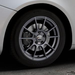 AUTEC Wizard Gunmetal matt Felge mit Reifen grau in 16Zoll Winterfelge Alufelge auf silbernem Alfa Romeo Giulietta Typ 940 ⬇️ mit 15mm Tieferlegung ⬇️ Industriehalle 1 Thumbnail