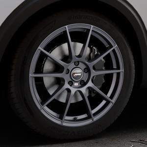 AUTEC Wizard Gunmetal matt Felge mit Reifen grau in 19Zoll Winterfelge Alufelge auf silbernem Peugeot 5008 Typ M ⬇️ mit 15mm Tieferlegung ⬇️ Industriehalle 1 Thumbnail