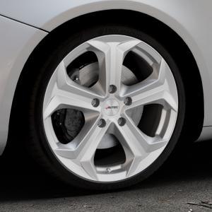 AUTEC Xenos Brillantsilber lackiert Felge mit Reifen in 19Zoll Winterfelge Alufelge auf silbernem Alfa Romeo Giulietta Typ 940 ⬇️ mit 15mm Tieferlegung ⬇️ Industriehalle 1 Thumbnail