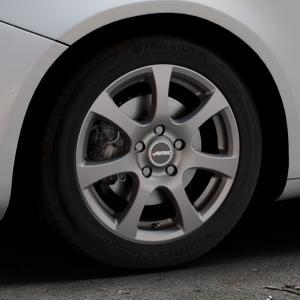 AUTEC Zenit Anthrazit matt lackiert Felge mit Reifen grau in 16Zoll Winterfelge Alufelge auf silbernem Alfa Romeo Giulietta Typ 940 ⬇️ mit 15mm Tieferlegung ⬇️ Industriehalle 1 Thumbnail