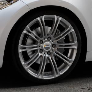 AVUS Racing AC-MB1 ANTHRACITE Felge mit Reifen grau anthrazit in 19Zoll Winterfelge Alufelge auf silbernem BMW M2 Typ F87 ⬇️ mit 15mm Tieferlegung ⬇️ Industriehalle 1 Thumbnail