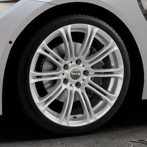 AVUS Racing AC-MB1 HYPER SILVER Felge mit Reifen silber in 19Zoll Winterfelge Alufelge auf silbernem BMW M4 Typ F83 (Cabrio) 3,0l 317kW (431 PS) ⬇️ mit 15mm Tieferlegung ⬇️ Industriehalle 1 Thumbnail