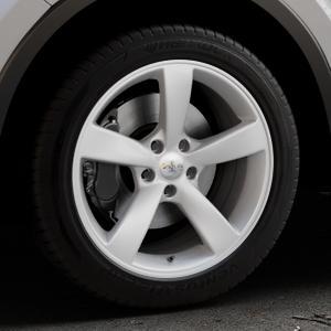 AVUS Racing AF10 HYPER SILVER Felge mit Reifen silber in 18Zoll Winterfelge Alufelge auf silbernem Toyota C-HR Typ AX1T(EU,M) AX1T(EU,M)-TMG ⬇️ mit 15mm Tieferlegung ⬇️ Industriehalle 1 Thumbnail