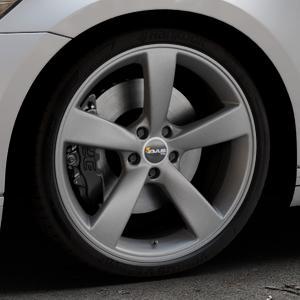 AVUS Racing AF10 MATT ANTHRACITE Felge mit Reifen grau anthrazit in 20Zoll Winterfelge Alufelge auf silbernem Volkswagen (VW) Passat 3C/B8 Limousine Variant ⬇️ mit 15mm Tieferlegung ⬇️ Industriehalle 1 Thumbnail