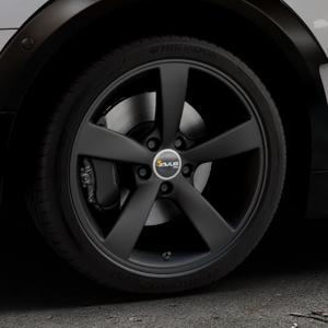 AVUS Racing AF10 MATT BLACK Felge mit Reifen schwarz in 18Zoll Winterfelge Alufelge auf silbernem Mini F54 Typ UKL-L (Clubman) FMK ⬇️ mit 15mm Tieferlegung ⬇️ Industriehalle 1 Thumbnail