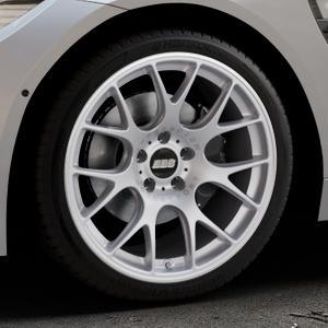 BBS CH-R brillantsilber Felge mit Reifen in 19Zoll Winterfelge Alufelge auf silbernem BMW M4 Typ F82 GTS 3,0l 368kW (500 PS) ⬇️ mit 15mm Tieferlegung ⬇️ Industriehalle 1 Thumbnail