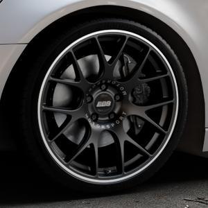 BBS CH-R schwarz matt Felge mit Reifen in 20Zoll Winterfelge Alufelge auf silbernem Audi A6 Typ 4G/C7 (Avant) ⬇️ mit 15mm Tieferlegung ⬇️ Industriehalle 1 Thumbnail