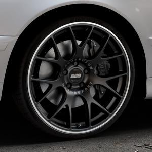 BBS CH-R schwarz matt Felge mit Reifen in 20Zoll Winterfelge Alufelge auf silbernem BMW 520i Typ E39 (Limousine) 523i 525i 528i 530i 520d 525tds 530d 525d (Touring) 535i 540i 525td ⬇️ mit 15mm Tieferlegung ⬇️ Industriehalle 1 Thumbnail
