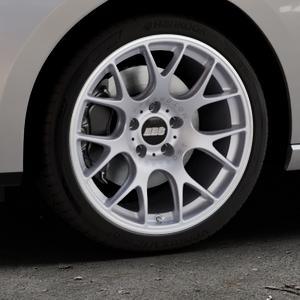 BBS CH-R titan matt Felge mit Reifen grau in 18Zoll Winterfelge Alufelge auf silbernem Seat Leon Typ 5F ST Facelift ⬇️ mit 15mm Tieferlegung ⬇️ Industriehalle 1 Thumbnail