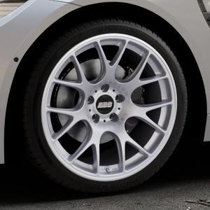 BBS CH-R titan matt Felge mit Reifen grau in 19Zoll Winterfelge Alufelge auf silbernem BMW M4 Typ F82 GTS 3,0l 368kW (500 PS) ⬇️ mit 15mm Tieferlegung ⬇️ Industriehalle 1 Thumbnail