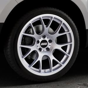 BBS CH-R titan matt Felge mit Reifen grau in 19Zoll Winterfelge Alufelge auf silbernem Dacia Duster Typ SD ⬇️ mit 15mm Tieferlegung ⬇️ Industriehalle 1 Thumbnail