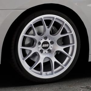 BBS CH-R titan matt Felge mit Reifen grau in 19Zoll Winterfelge Alufelge auf silbernem Hyundai i40 Typ VF Limousine Kombi Facelift ⬇️ mit 15mm Tieferlegung ⬇️ Industriehalle 1 Thumbnail