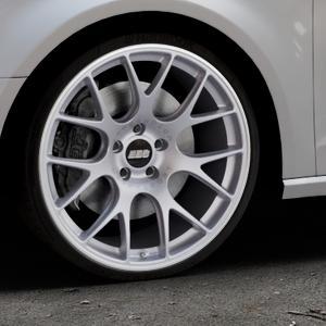 BBS CH-R titan matt Felge mit Reifen grau in 20Zoll Winterfelge Alufelge auf silbernem Audi A3 Typ 8V ⬇️ mit 15mm Tieferlegung ⬇️ Industriehalle 1 Thumbnail