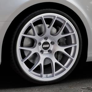BBS CH-R titan matt Felge mit Reifen grau in 20Zoll Winterfelge Alufelge auf silbernem Audi A4 Typ 8K2/B8 (Limousine) ⬇️ mit 15mm Tieferlegung ⬇️ Industriehalle 1 Thumbnail