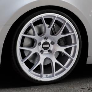 BBS CH-R titan matt Felge mit Reifen grau in 20Zoll Winterfelge Alufelge auf silbernem Audi A4 Typ B9 (Avant) ⬇️ mit 15mm Tieferlegung ⬇️ Industriehalle 1 Thumbnail