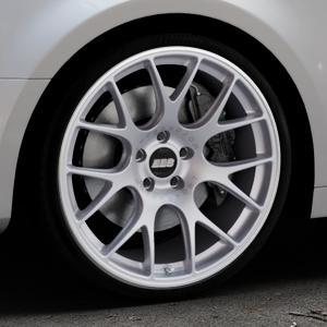 BBS CH-R titan matt Felge mit Reifen grau in 20Zoll Winterfelge Alufelge auf silbernem Audi A4 Typ B9 (Limousine) ⬇️ mit 15mm Tieferlegung ⬇️ Industriehalle 1 Thumbnail