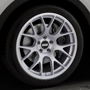 BBS CH-R titan matt Felge mit Reifen grau in 20Zoll Winterfelge Alufelge auf silbernem Audi Q5 II Typ FY ⬇️ mit 15mm Tieferlegung ⬇️ Industriehalle 1 Thumbnail